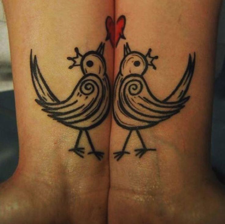 20 Unbelievably Romantic Couple Tattoos