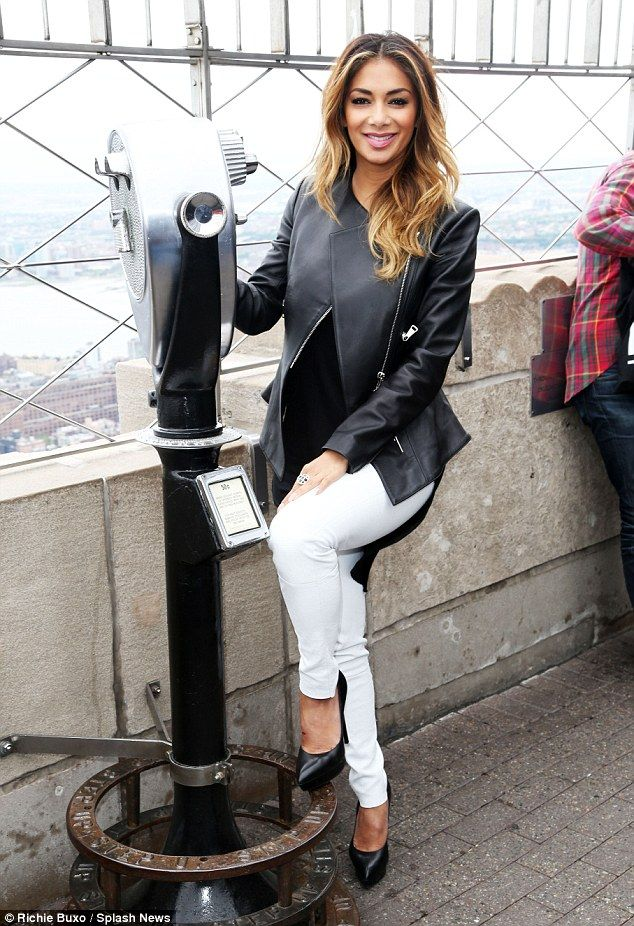 Nicole Scherzinger has a Red Nose Day at Empire State Building event