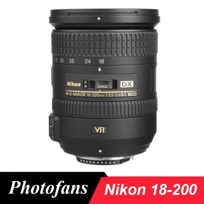 Nikon 18-200 lens Nikkor AF-S DX 18-200mm f/3.5-5.6G ED VR II Lenses  for Nikon D3100 D3200 D3300 D5500 D5300 D90 D7200 D7100 //Price: $476.00//     #shopping