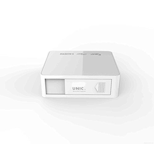 UNIC UC50 DLP Pocket Projector battery operated Full HD Pico projector White Colour