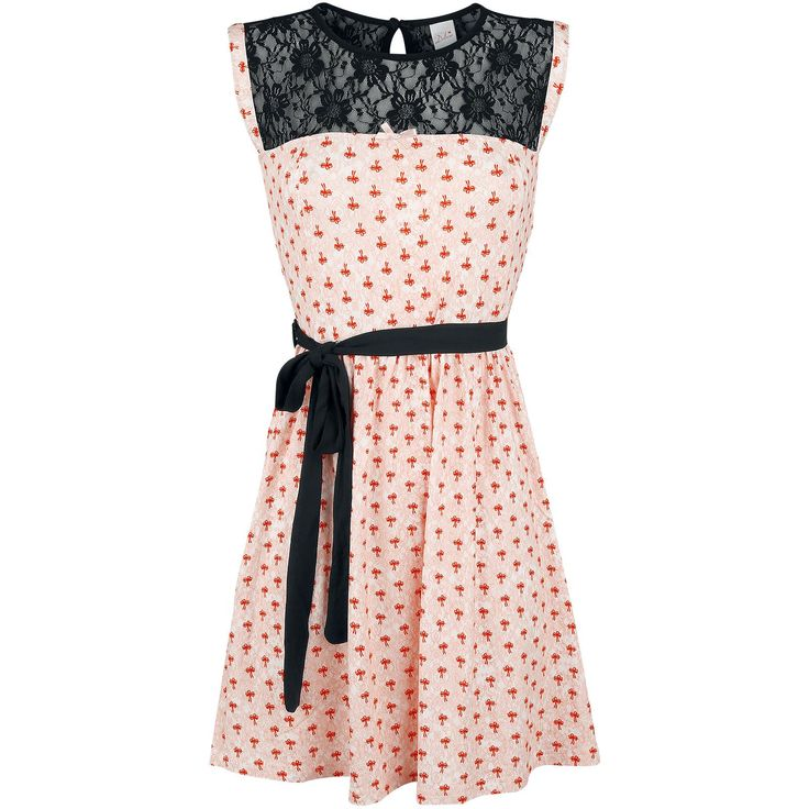 """Abito """"Rose Bow Dress"""" del brand #PussyDeluxe."""