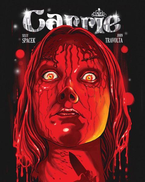13 affiches de films dhorreur revisitées   13 affiches de films d horreur revisitees carrie