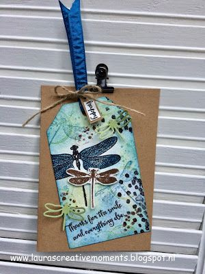 Laura's Creative Moments: Dragonfly Dreams ... Stampin' Up!