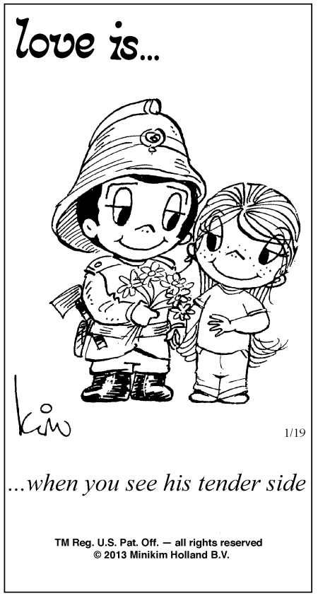 Love Is... Comics By Kim Casali | Love Is ... Comic Strip by Kim Casali (January 19, 2013)