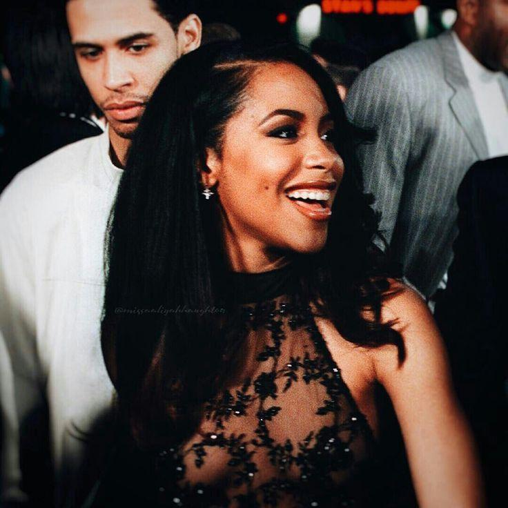 Aaliyah and brother Rashad