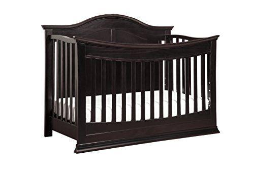 DaVinci Meadow 4-in-1 Convertible Crib, Dark Java