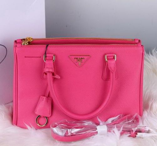 Prada Saffiano Lux Small Tote Bag BN1801 in Hot Pink #handbag ...
