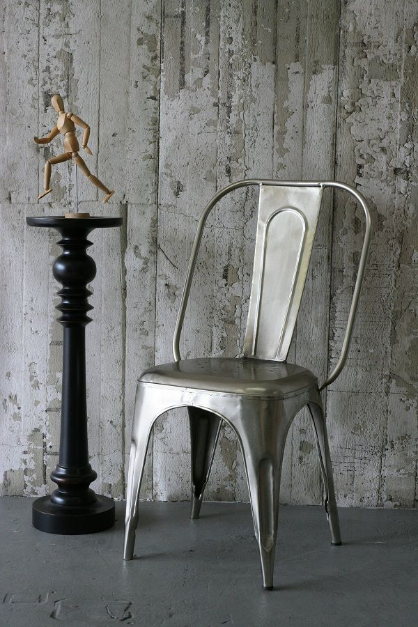 xavier pauchard french industrial dining room furniture. Concrete Wallpaper \u0026 Xavier Pauchard Tolix Dining Chair Silver. Industrial ChicIndustrial HomesIndustrial FurnitureIndustrial French Room Furniture