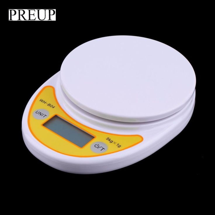 Electronic Weight Scale LCD Display Kitchen Food Weighing Scale