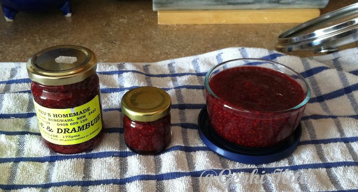 Chiaseed Raspberry Jam Recipe