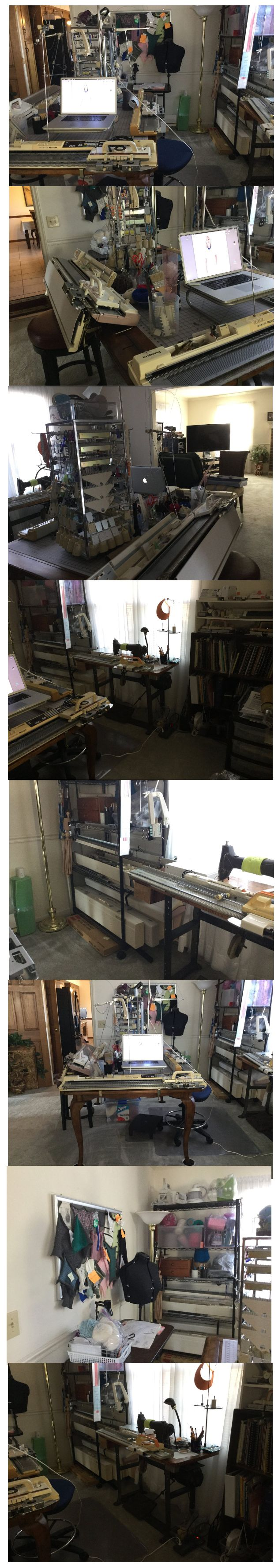 Fantasy Knitting Machine Room!  https://www.facebook.com/groups/13565915487/permalink/10152693085705488/