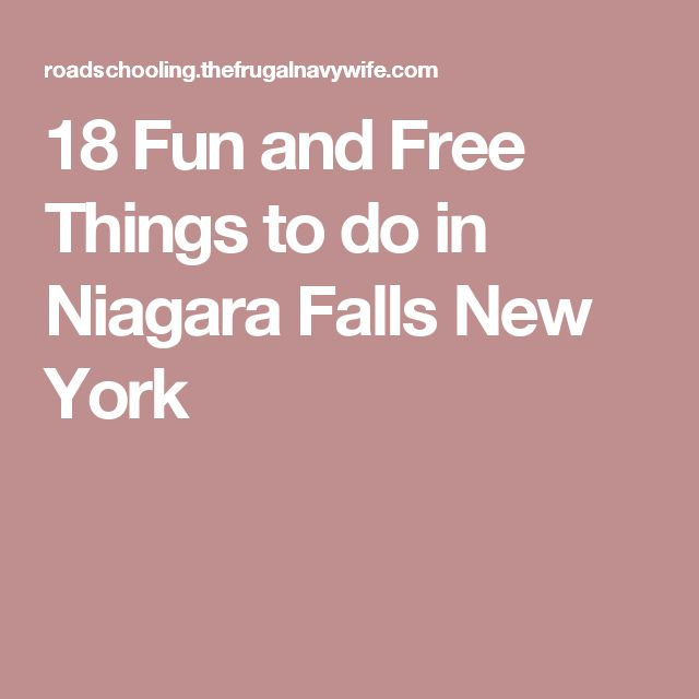 Best 25 niagara falls new york ideas on pinterest for What fun things to do in new york