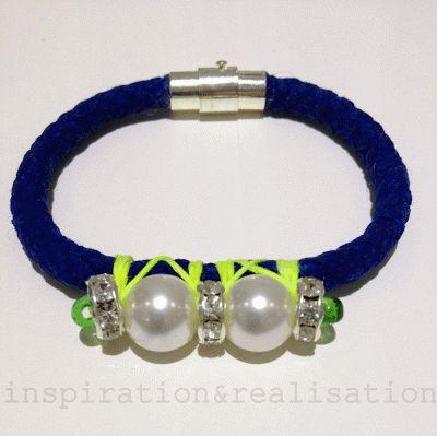 inspiration and realisation: DIY fashion blog: DIY - Vanities cord bracelets