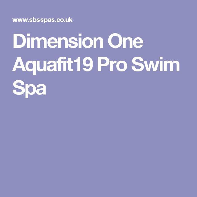 Dimension One Aquafit19 Pro Swim Spa
