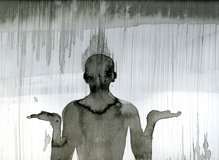 Anthony Gormley, Drawing, Clime 2010