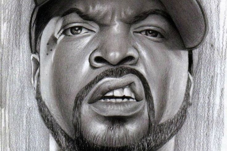 Ice cube ##Ice #Cube #pencil #drawing #gangsta #rap #hip #hop #legend #NWA #olovka #crtež #Spomo #Artwork #photo #photography #fliiby #images #yyazilim #people #nature