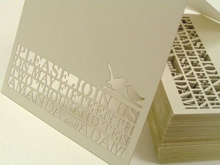 Laser Cut cards via Laser Cutting Shapes