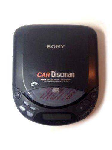 Sony Car Discman Compact CD Player D-824K