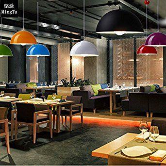 creativo pranzo Bianca sala da : Lampada di alluminio creativo minimalista moderna sala da pranzo ...