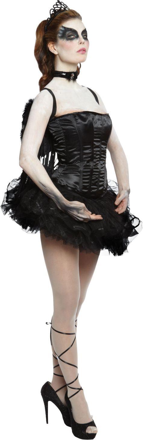 Adult Ballerina Black Swan Costume ($89.99) - Party City ONLINE