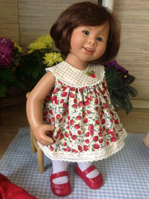 В стиле шестидесятых. Одежда на студийного Вихтеля Роземарии Анна Мюллер / Одежда для кукол / Шопик. Продать купить куклу / Бэйбики. Куклы фото. Одежда для кукол