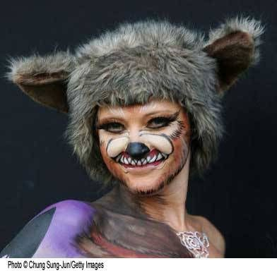 big bad wolf makeup - photo #27