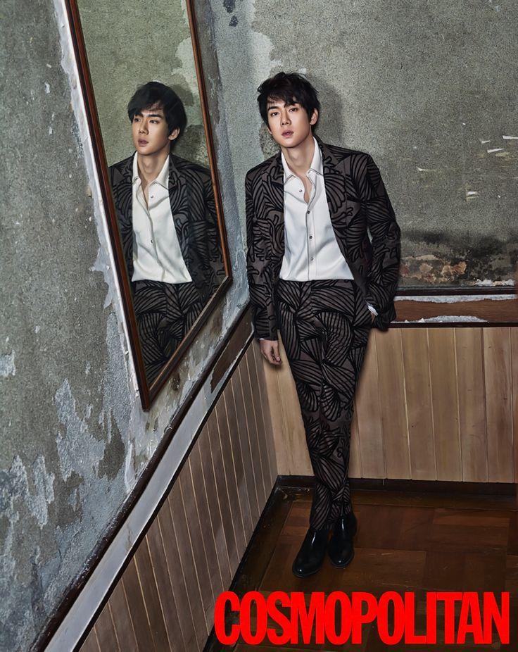 Yoo Yeon Seok for Cosmopolitan