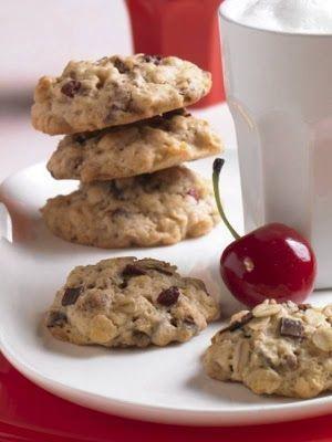 Keksz Blog: Csokis-meggyes keksz