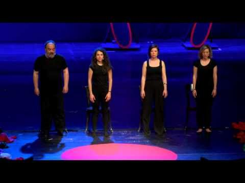Playback theatre experience at #TEDxThess15 | T!NG | TEDxThessaloniki - YouTube