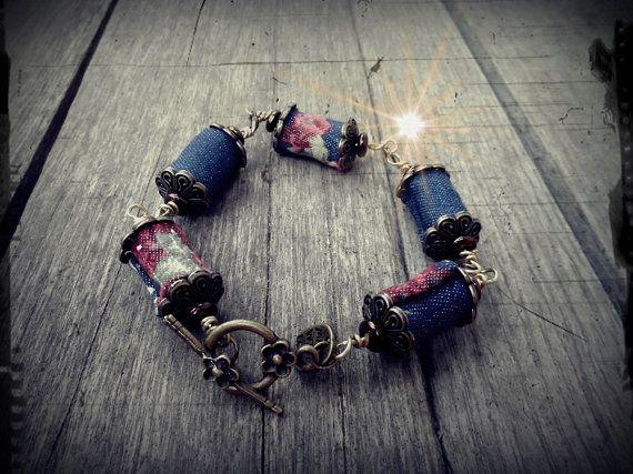 rustic romantic natural bracelet nice gift made by RasikaWorkshop