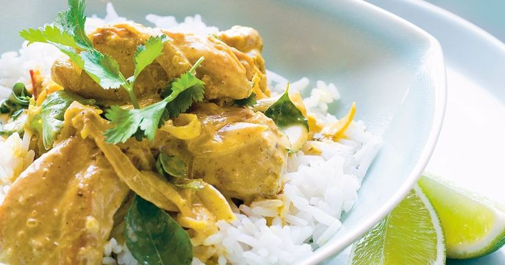 This quick and easy coconut chicken curry is a simple way to liven up the week.