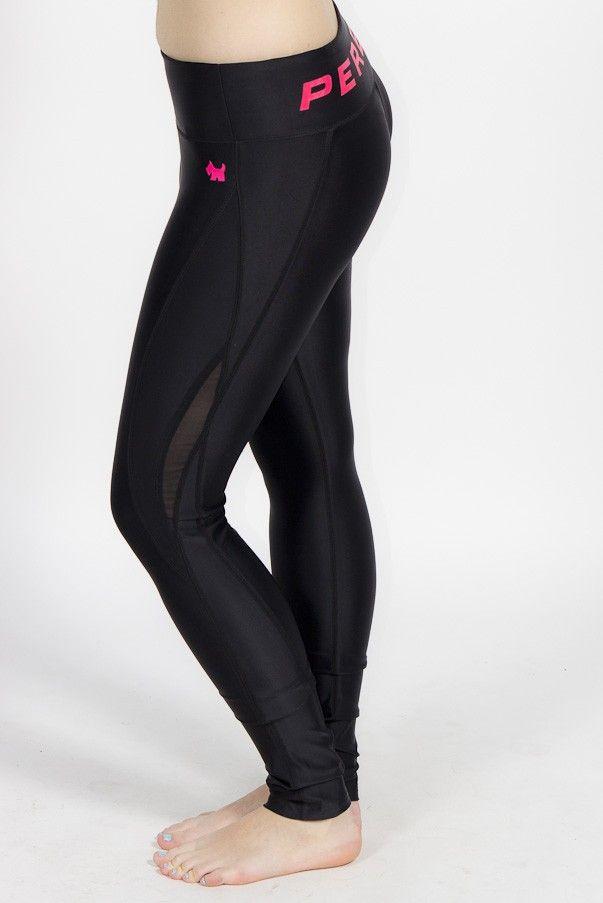 Black yoga pants, nylon spandex, breathing fabric, gym workout, morning jog.