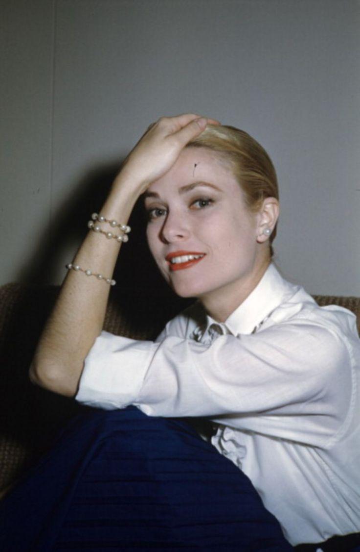 Grace Kelly. Cannes Film Festival. 1955.