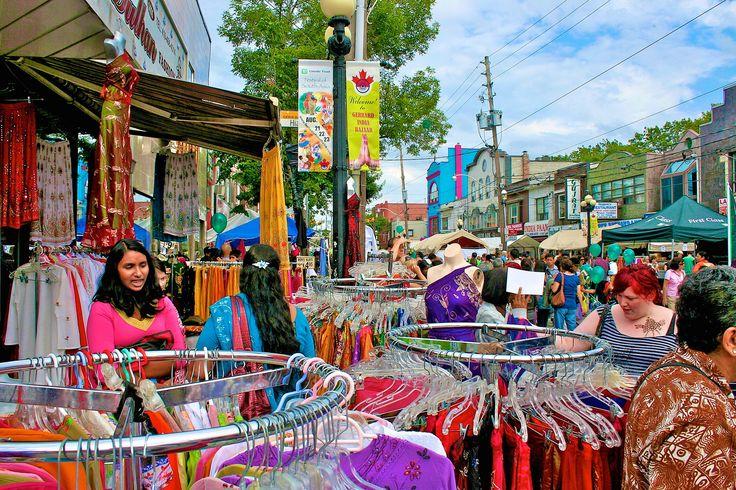offbeat Toronto things to do Gerrard Bazaar Street