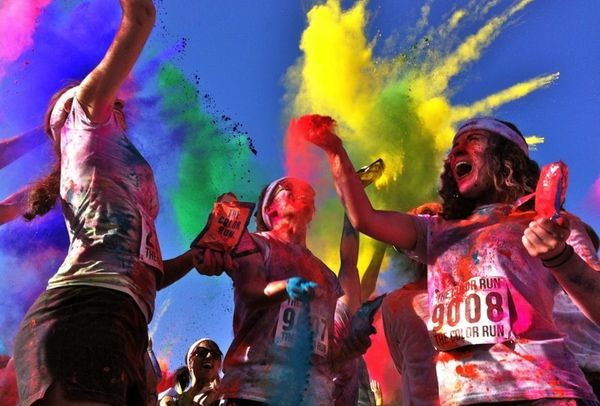 The Color Run = Color Fun! I think I'm doing this this