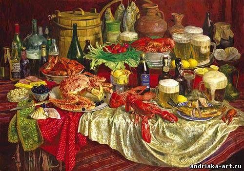 Andriaka paintings | Сергей Андрияка