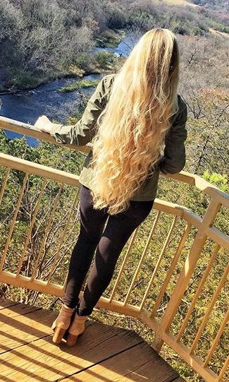 Long beautiful blonde hair #rapunzel #longhair #blondes