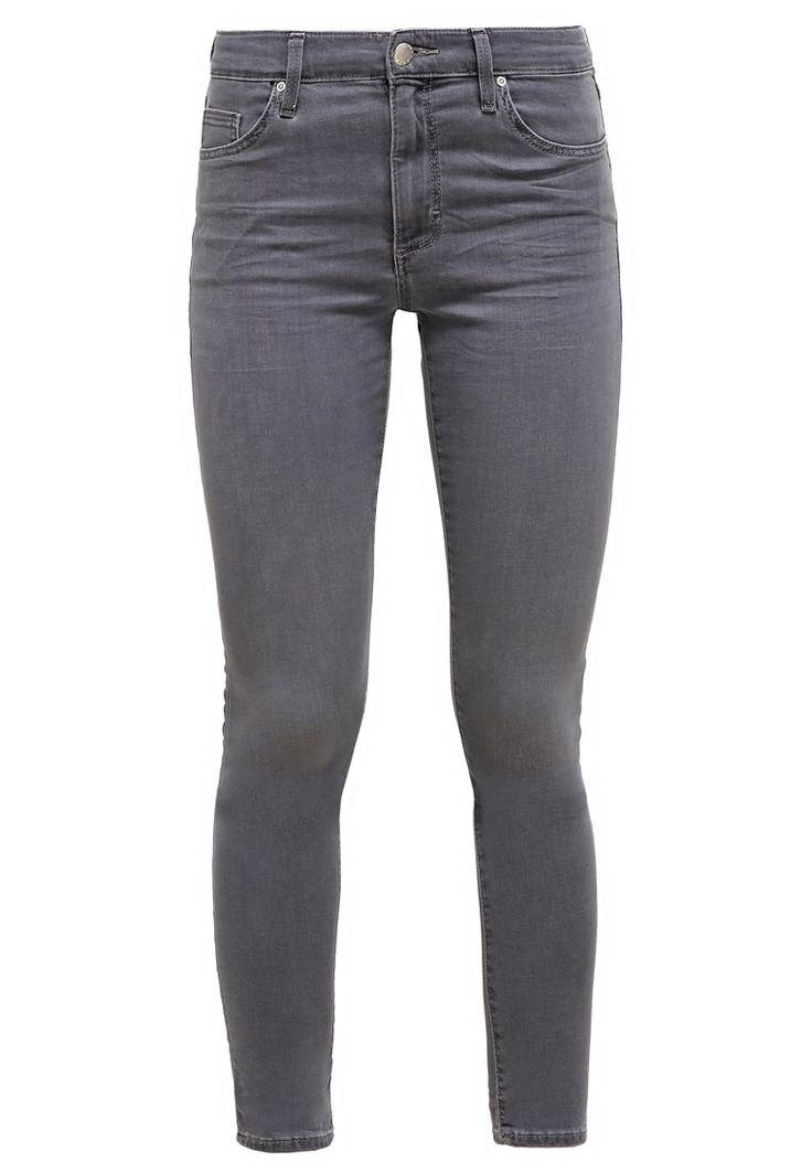 Topshop LEIGH - Jeans Slim Fit - grey denim - Zalando.de