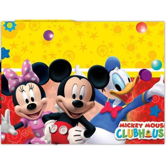 Plastic tafelkleed van Mickey Mouse 120 x 180 cm