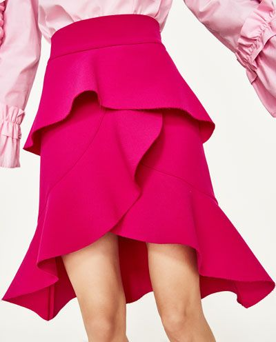 FRILLED SKIRT-NEW IN-WOMAN | ZARA United States