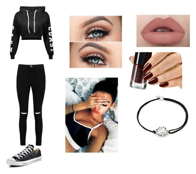 """""""Untitled #10"""" by julle2003 on Polyvore featuring Boohoo, Converse and Alex and Ani"""