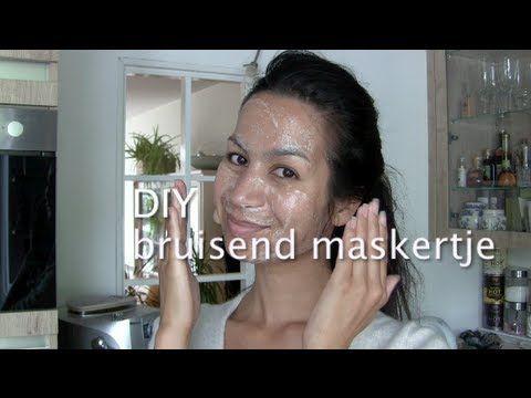 ▶ DIY bruisend maskertje voor de onzuivere huid - YouTube