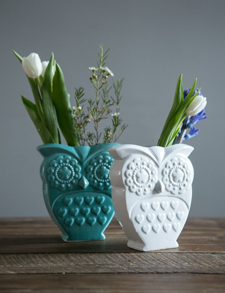 Captivating Retro Owl Vase At Rose And Grey, Home Accessories. Vase DecorationsLiving  Room ... Part 15