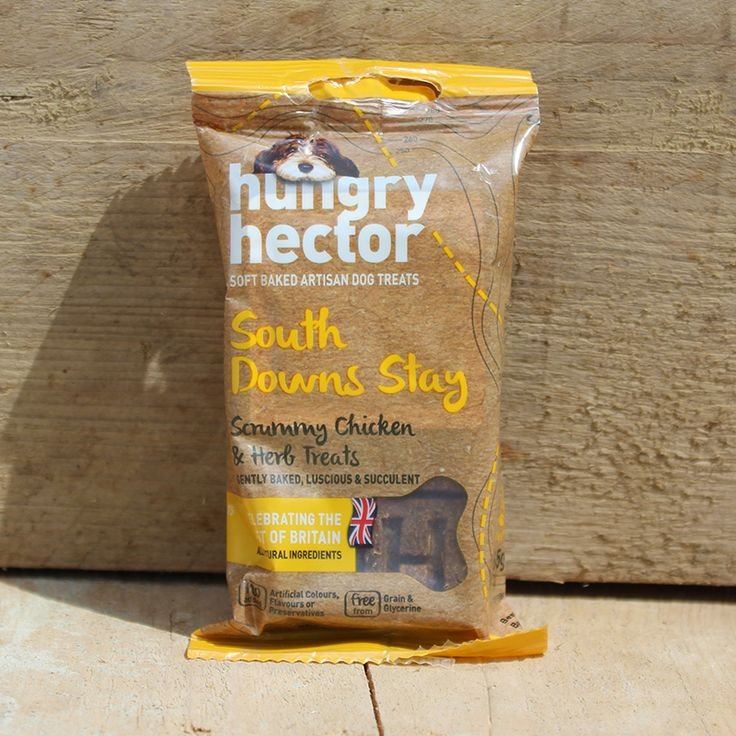 Hungry Hector scrummy chicken and herb grain-free dog treats
