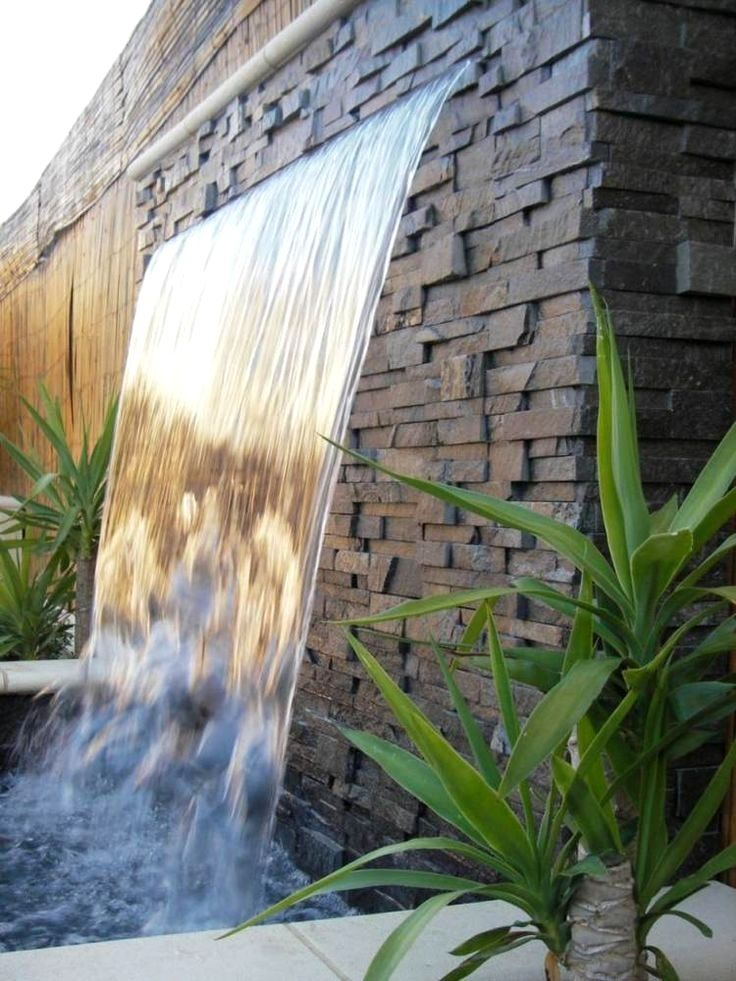 pinterest image of fontaine de jardin