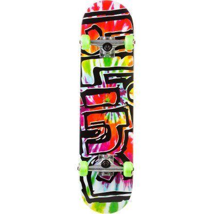Blind Heady Tie Dye Complete Skateboard ...