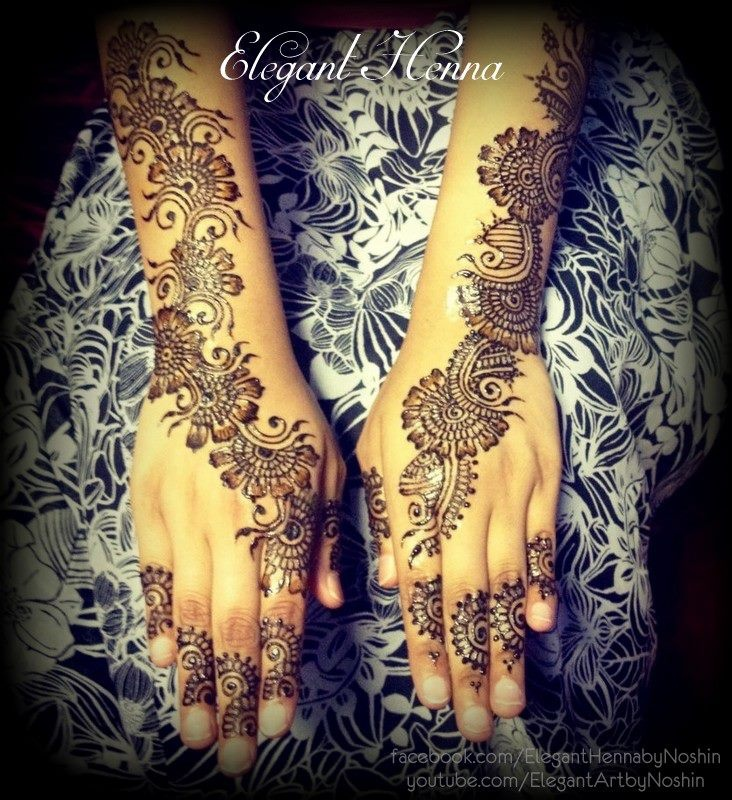 Henna Tattoo Colors : Best henna hand art images on pinterest tattoo
