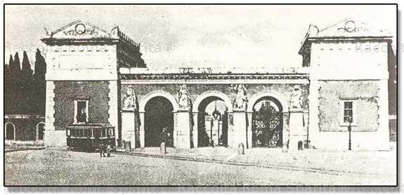 Roma Sparita. Foto storiche di Roma - Piazzale del Verano