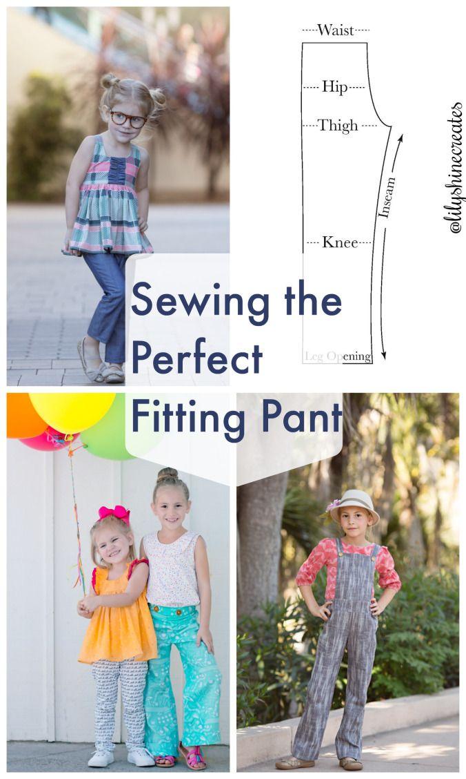 Sewing Tutorial: DIY Custom Fit Pants | Sew cool | Pinterest | Pants ...