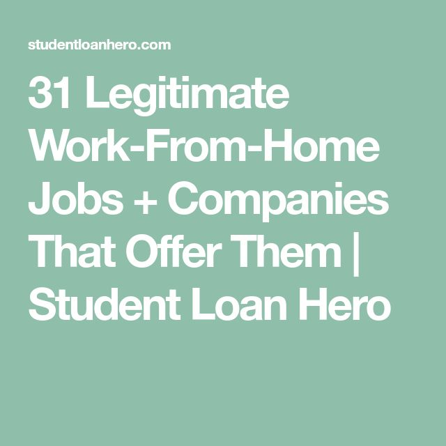 31 Legitimate Work-From-Home Jobs + Companies That Offer